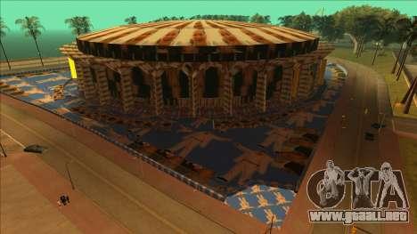 Estadio atractivo para el cielo para GTA San Andreas