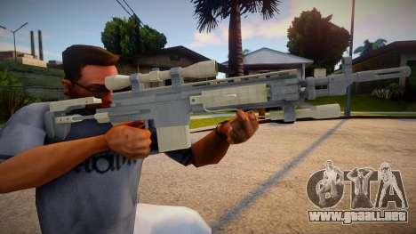 Sniper Semi-Automatic para GTA San Andreas