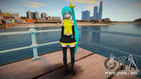 PDFT Hatsune Miku Vocal para GTA San Andreas