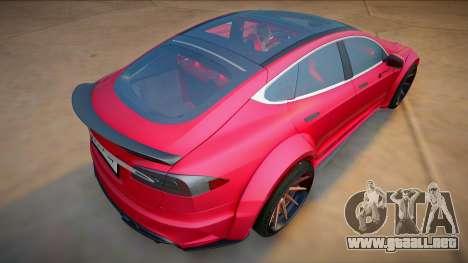 Tesla Model S P100 para GTA San Andreas