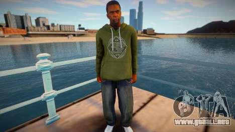 Piel de GTA V v4 para GTA San Andreas