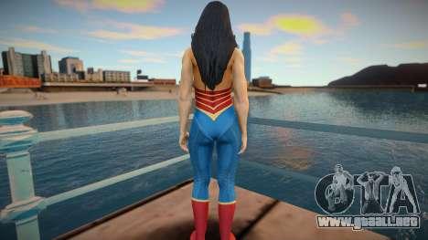 Wonder Woman skin para GTA San Andreas