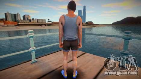 Trevor hipster style para GTA San Andreas