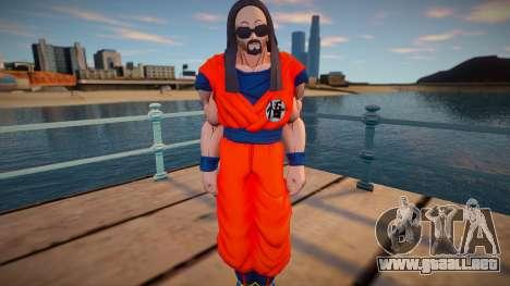 Steve Aoki from Dragon Ball Xenoverse 2 para GTA San Andreas