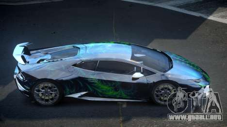 Lamborghini Huracan BS-Z S10 para GTA 4