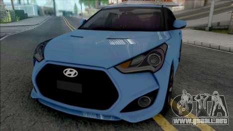 Hyundai Veloster [HQ] para GTA San Andreas