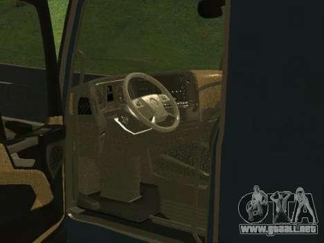 Mercedes Benz Actros 1863 EURO6 para GTA San Andreas