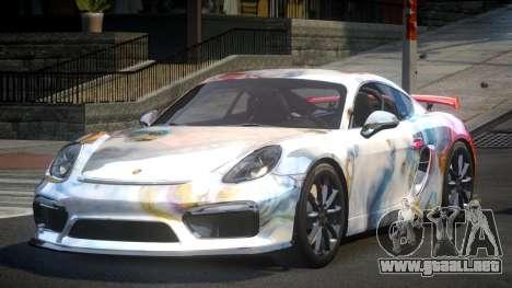 Porsche 718 Cayman GT4 S8 para GTA 4