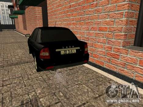 LADA 2170 PRIORA 2 generación del año para GTA San Andreas