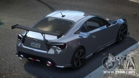 Subaru BRZ SP-U para GTA 4