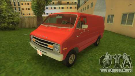 Dodge Tradesman Van 1976 para GTA Vice City
