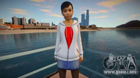 Haruka Sawamura - Yakuza 5 para GTA San Andreas