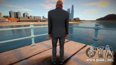 Franklin en una chaqueta para GTA San Andreas