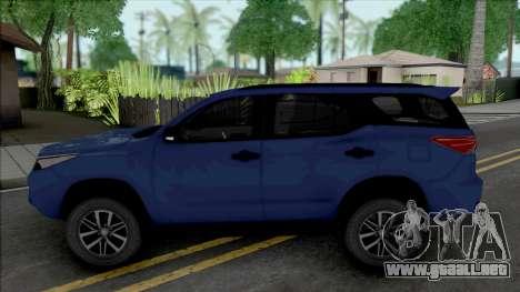 Toyota Fortuner [HQ] para GTA San Andreas
