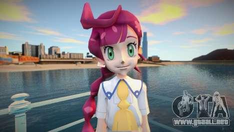 Pokemon Journeys Chloe V3 final para GTA San Andreas