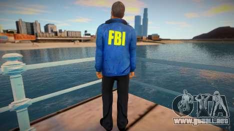 FBI (good textures) para GTA San Andreas