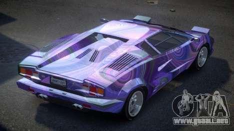 Lamborghini Countach GST-S S3 para GTA 4