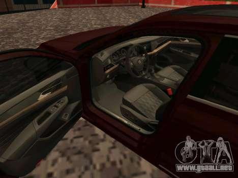 Volkswagen Passat 380TSI para GTA San Andreas
