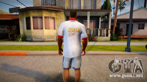 Burger Shot Shirt para GTA San Andreas