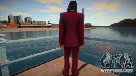 Akira Nishikiyama - Yakuza 0 para GTA San Andreas