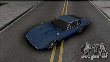 Maserati Ghibli 1970 para GTA San Andreas