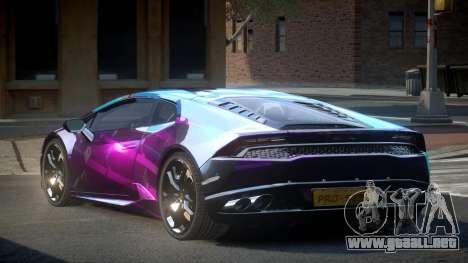 Lamborghini Huracan LP610 S5 para GTA 4