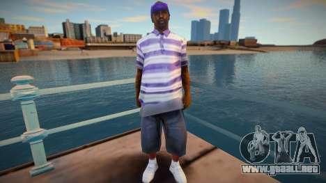 New Ballas2 skin para GTA San Andreas