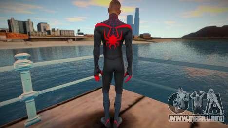 Miles Morales - Classic Suit v2 para GTA San Andreas