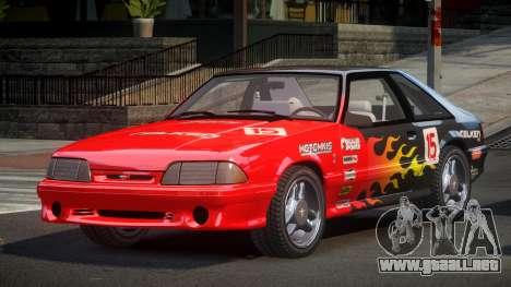 Ford Mustang SVT 90S S1 para GTA 4