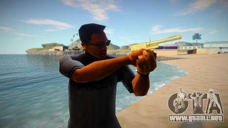 Desert Eagle from GTA Online DLC Cayo Perico Hei para GTA San Andreas