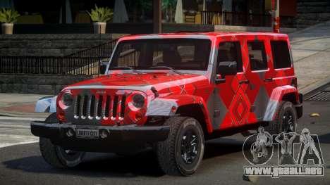 Jeep Wrangler PSI-U S4 para GTA 4