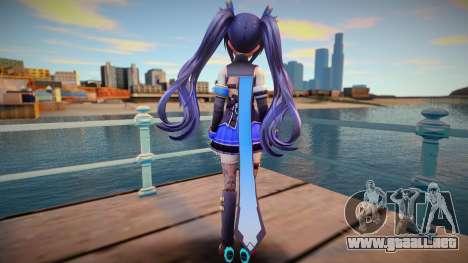 Neptunia Virtual Stars Kin v4 para GTA San Andreas