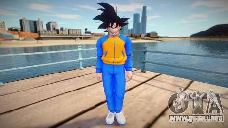 Goku Sport para GTA San Andreas