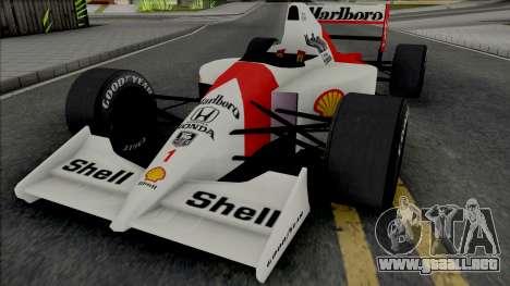 McLaren MP4-6 Ayrton Senna (Formula 1) para GTA San Andreas