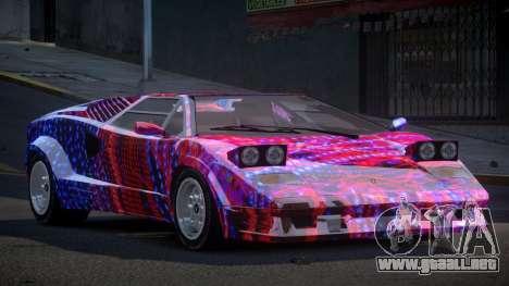 Lamborghini Countach GST-S S2 para GTA 4