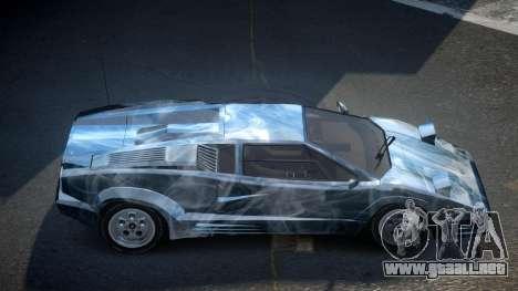 Lamborghini Countach GST-S S8 para GTA 4