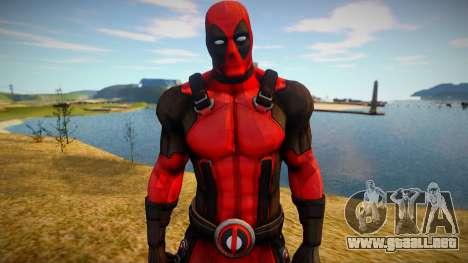 Deadpool skin para GTA San Andreas