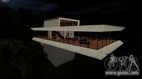 La casa de seguridad de las colinas para GTA San Andreas
