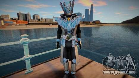 Kamen Rider Wizard Infinity Style para GTA San Andreas