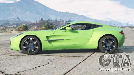 Aston Martin One-77 2010〡add-on v2.0