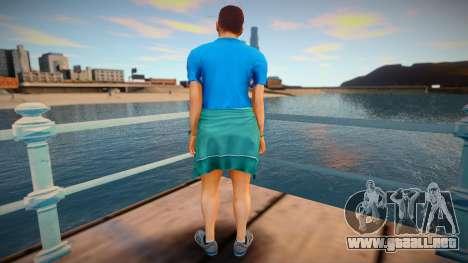Piel de GTA V v9 para GTA San Andreas