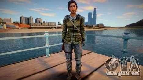 Lara Croft 2015 para GTA San Andreas