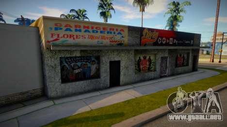 New Binko (Dirty shop) para GTA San Andreas