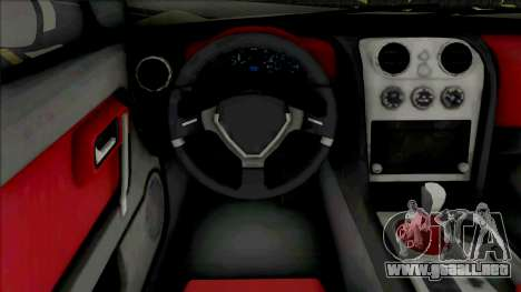AC 378 GT Zagato [VehFuncs] para GTA San Andreas