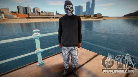 MASK NIGA HD para GTA San Andreas