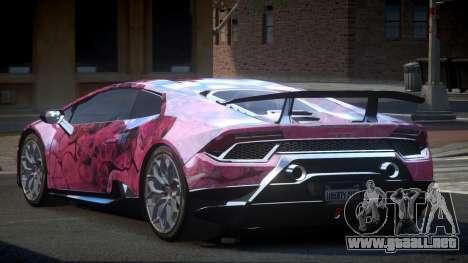 Lamborghini Huracan BS-Z S2 para GTA 4