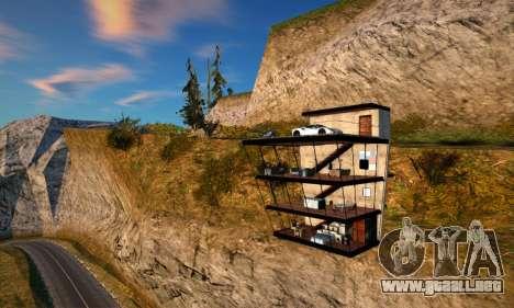 La Casa del Acantilado para GTA San Andreas