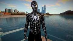 Spiderman 2007 (Black) v1 para GTA San Andreas