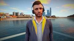 Dude en auriculares de GTA Online para GTA San Andreas