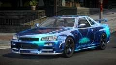 Nissan Skyline R34 PSI-U S8 para GTA 4
